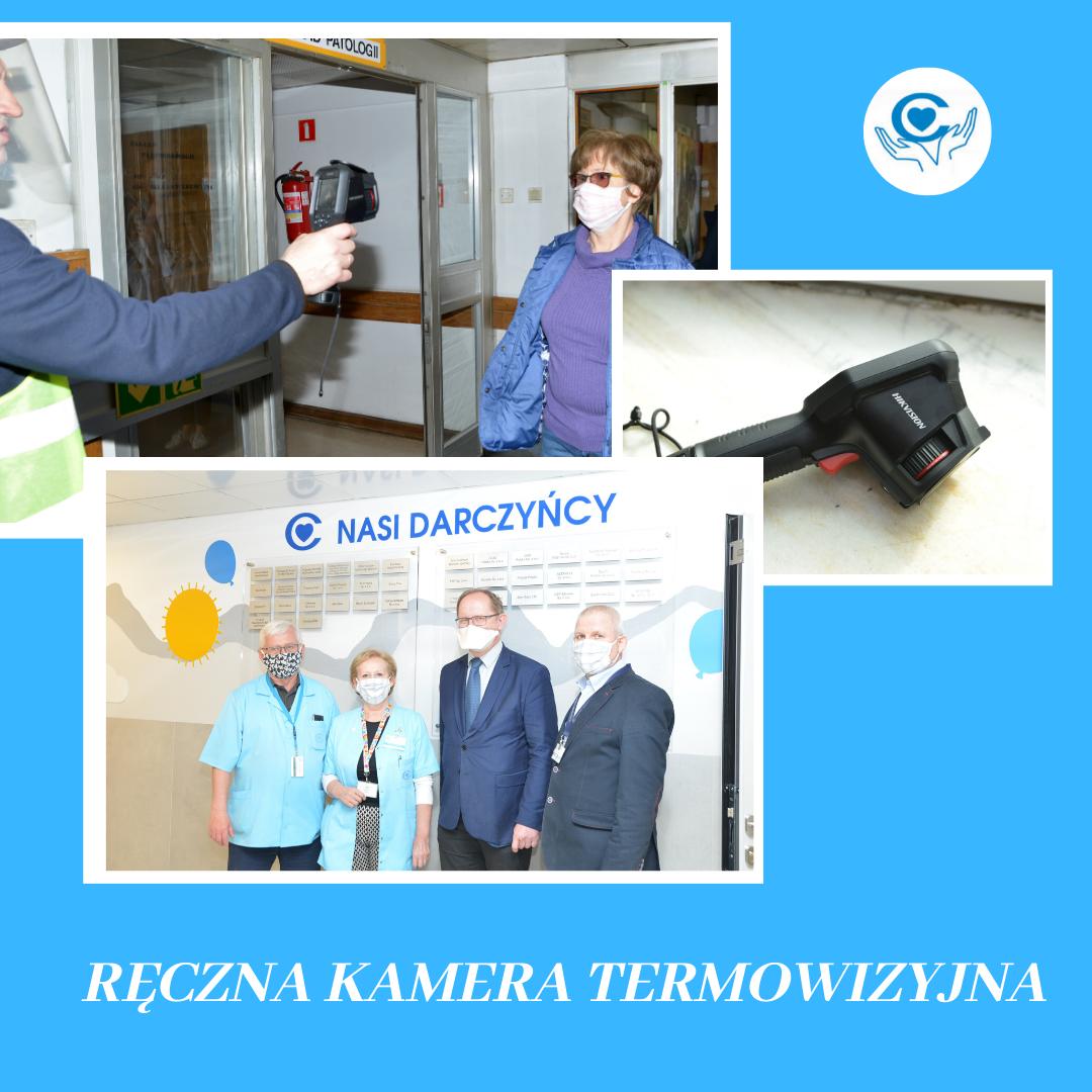 Ręczna kamera termowizyjna
