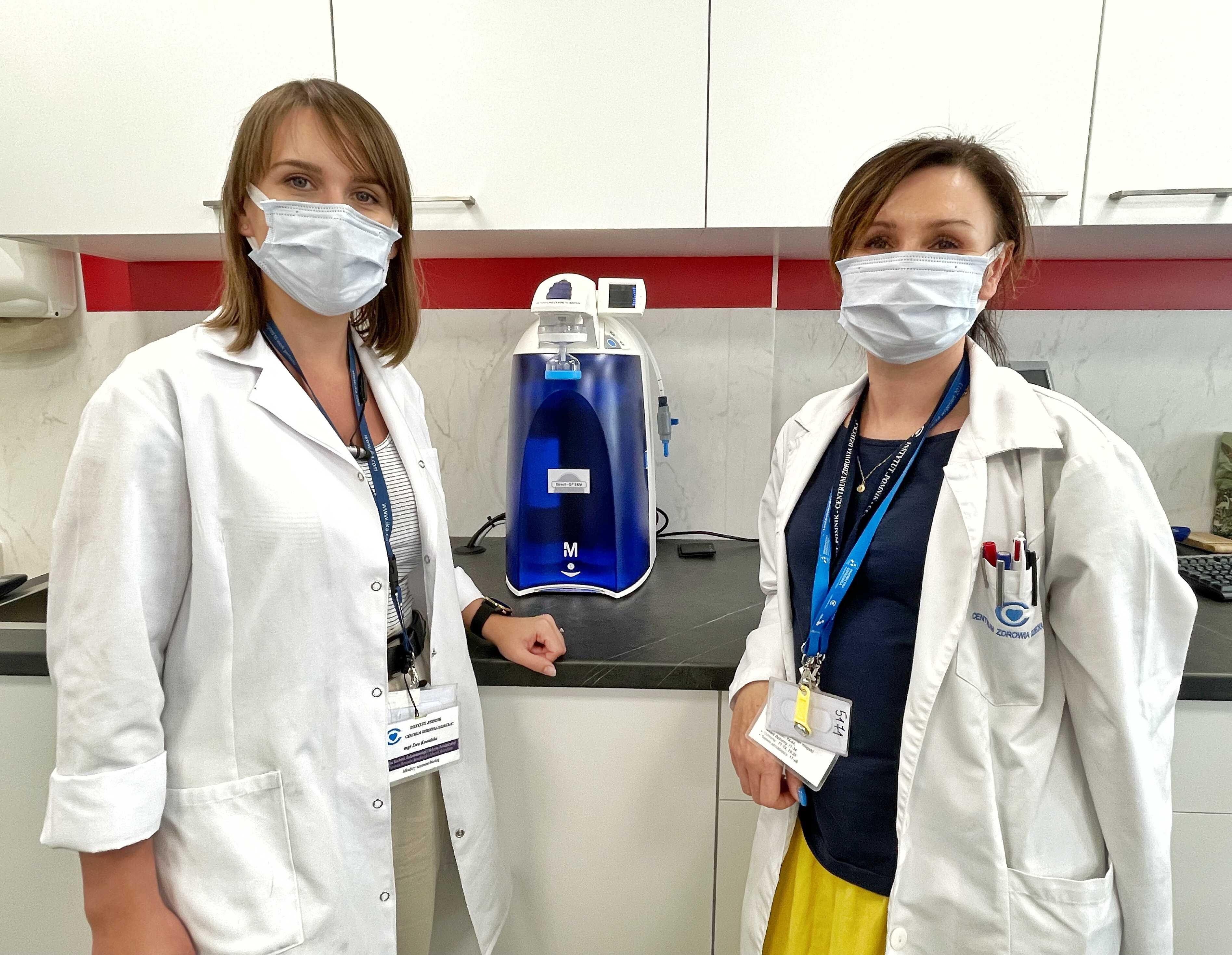 Labolatoryjny system oczyszczania wody_4